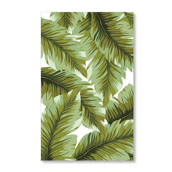 Palms Guest Towel / Dinner Napkins - Tulle and Twig