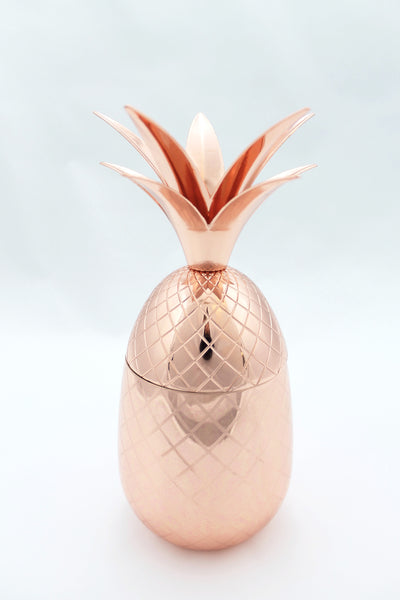 16 oz. Copper Pineapple Tumbler - Tulle and Twig
