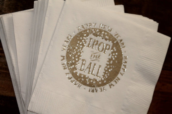 Drop The Ball Cocktail Napkins