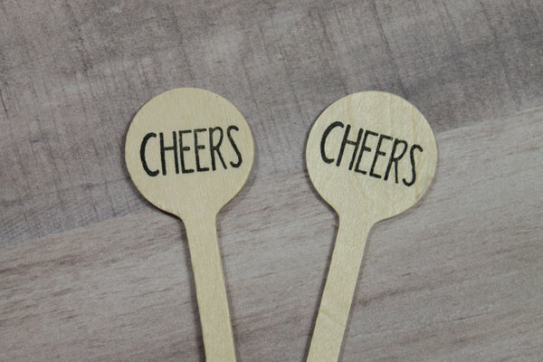 Cheers Drink Stirrers