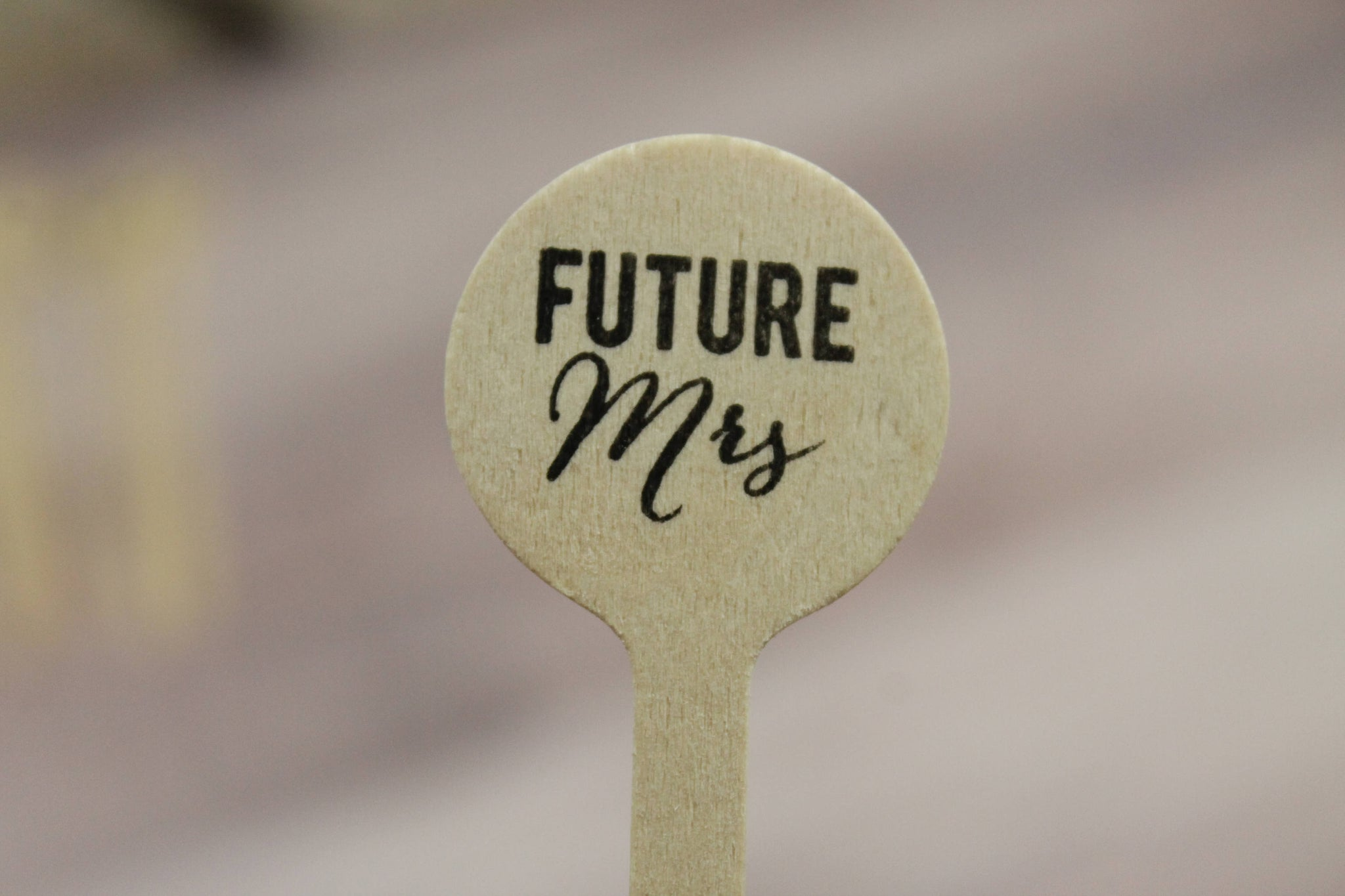 Future Mrs Drink Stirrers