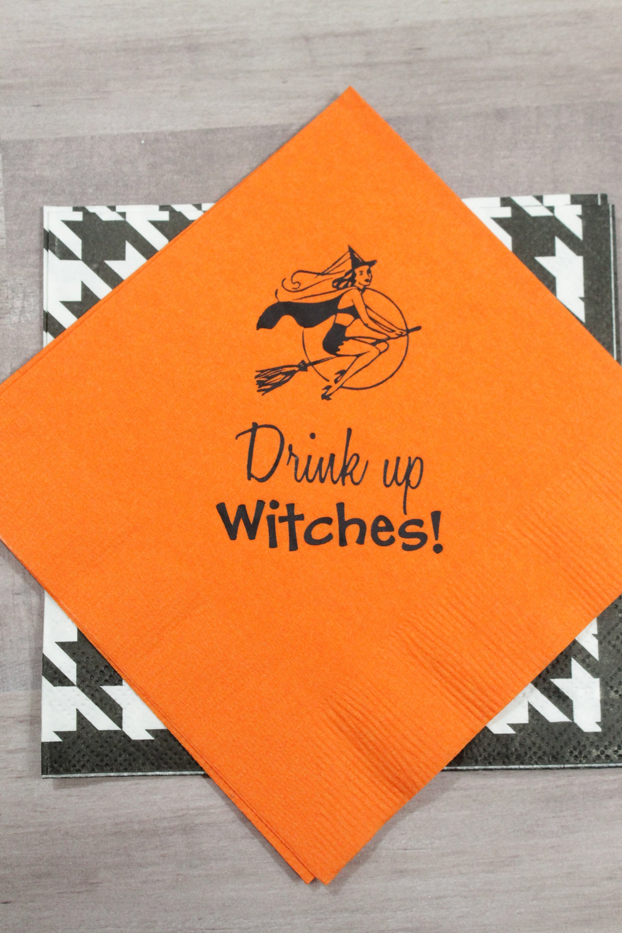 Drink up Witches!  Paper Napkins