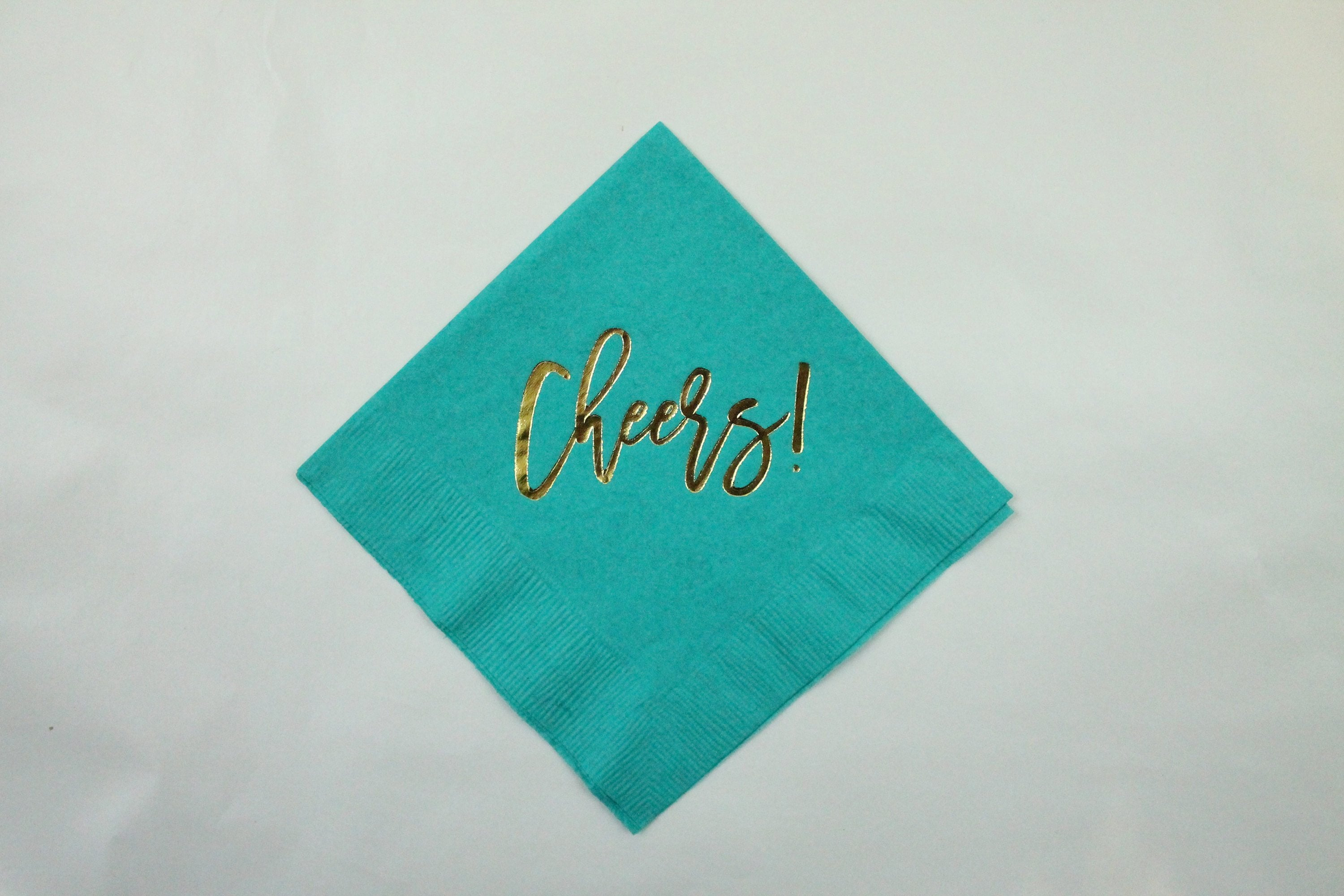 Cheers! Cocktail Napkins