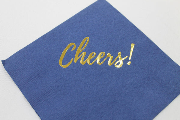 Cheers! Cocktail/Beverage Napkins