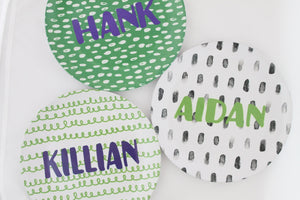 Personalized Melamine Plate - Customize it!