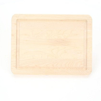 Engraved Monogram Maple Cutting Board