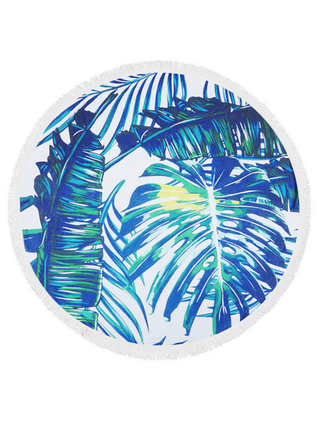 Round Beach Towels - Tulle and Twig