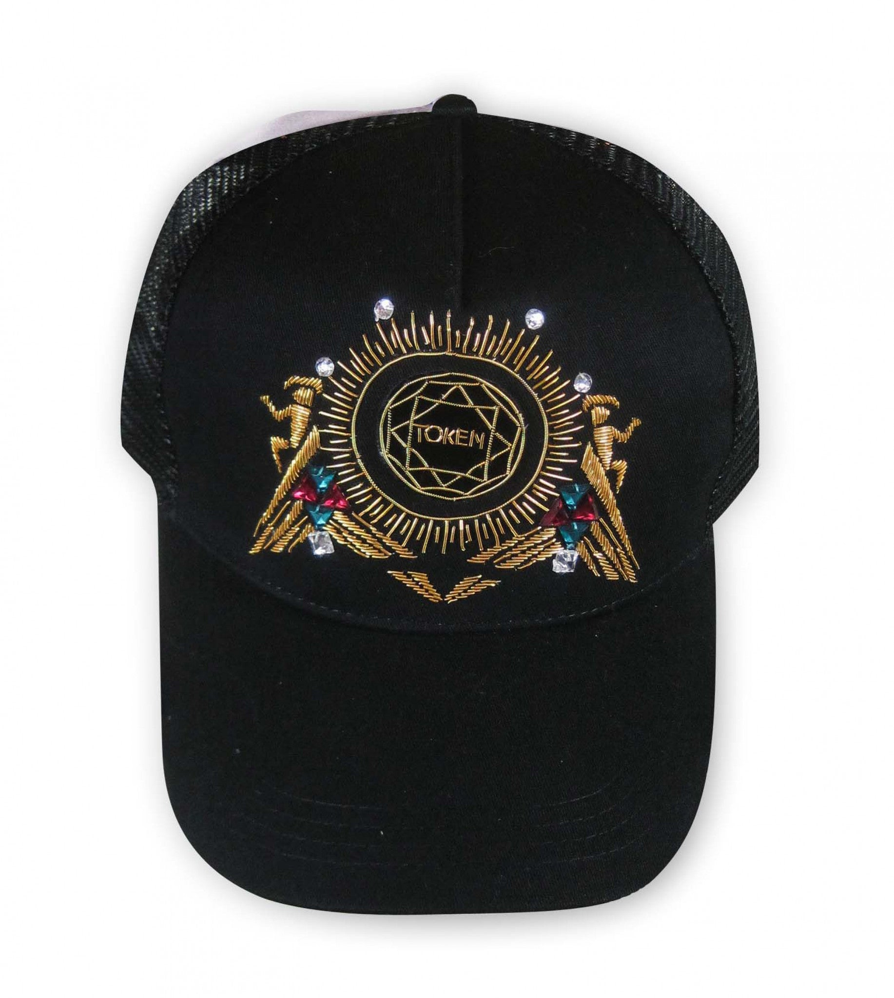 Embroidered Cap BLACK