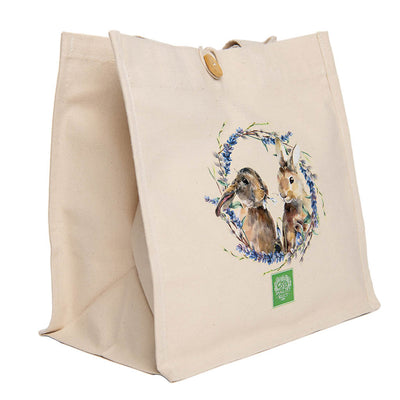 Rabbit and Wreath Tote, gifts:Smallpetselect