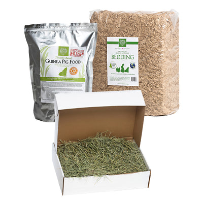 Orchard Hay + Food Pellets + Bedding,bundles:Smallpetselect