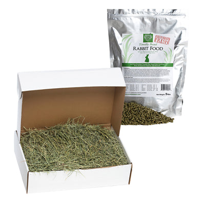 Orchard Hay + Food Pellets,bundles:Smallpetselect