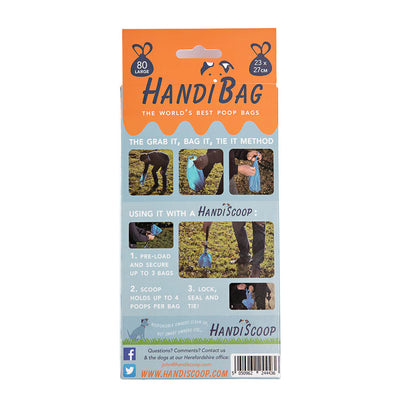 HandiScoop - the one, the only! (And one box of HandiBags), pet supplies:Smallpetselect