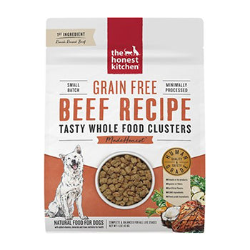 Honest Kitchen Clusters - grain-free beef, dog food:Smallpetselect