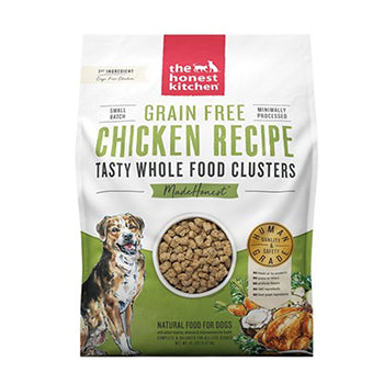 Honest Kitchen Clusters - grain-free chicken, dog food:Smallpetselect