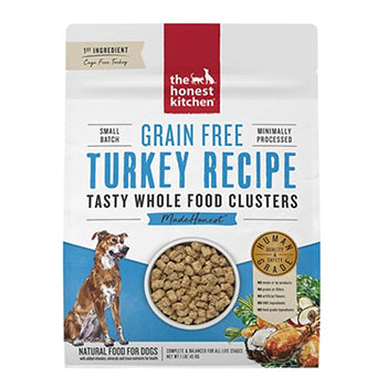Honest Kitchen Clusters - grain-free turkey, dog food:Smallpetselect