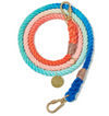 "Cotton Rope adjustable leash - Sweet Pea, for the perfect ""twinset"", dog collars and leashes:Smallpetselect"