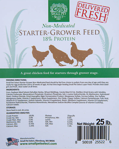 Non-Medicated Starter-Grower Chicken Feed