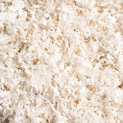 Unbleached White Paper Bedding