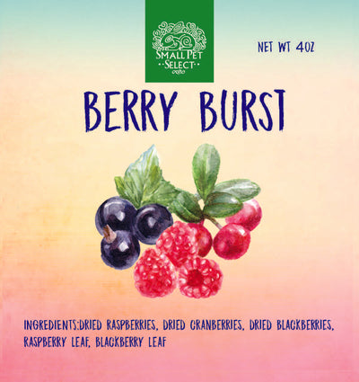 Berry Burst, Small Animal Food:Smallpetselect
