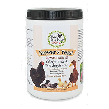 Fresh Eggs Daily Brewer's Yeast with Garlic Powder, chicken supplies:Smallpetselect