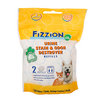 Fizzion Urine Stain and Odor Destroyer 2 pack refill, Pet Odor Control:Smallpetselect