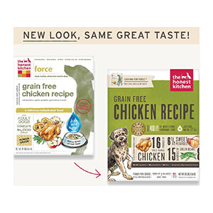 Honest Kitchen Grain-Free Chicken (Force) - Human-grade dehydrated food, dog food:Smallpetselect