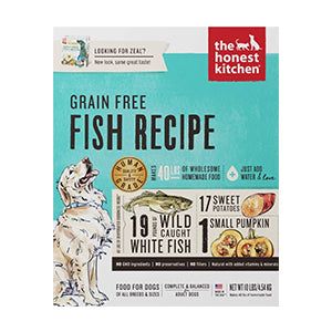 Honest Kitchen Grain-Free Fish (Zeal) - Human-grade dehydrated food, dog food:Smallpetselect