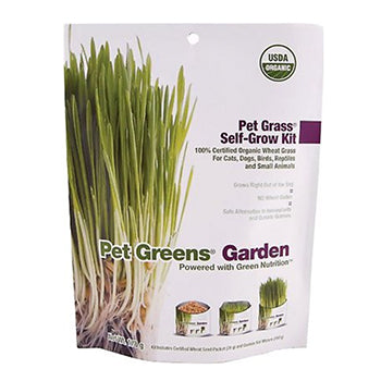 Pet Greens Garden (organic wheat grass), healthy snacks:Smallpetselect