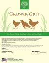 Grower Grit (8-18 weeks), Chicken feed:Smallpetselect