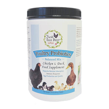 Fresh Eggs Daily Poultry Pro-Biotics, chicken supplies:Smallpetselect