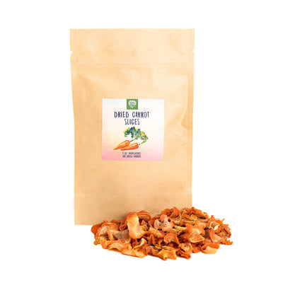 Dried Carrot Slices (2oz), Healthy snacks:Smallpetselect
