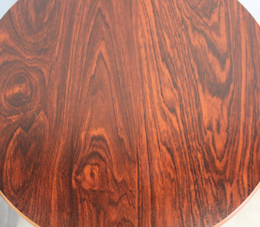 Round Wood Coffee Table, End Table
