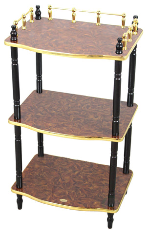 3-Tier Telephone Table, Small Book Shelf