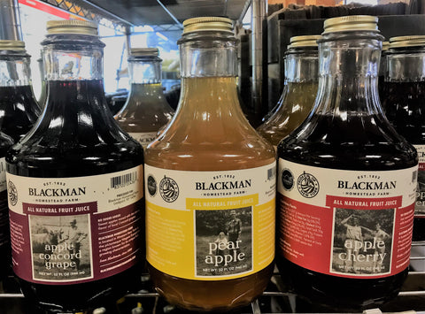 Blackman Farm All Natural Fruit Juices - 32 oz.