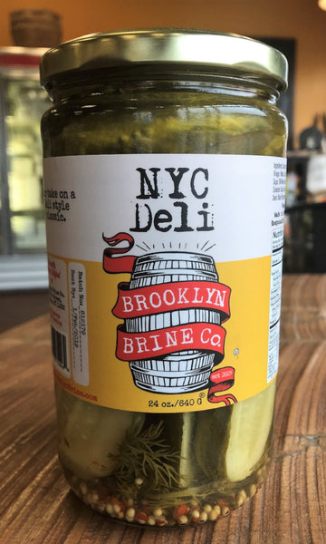 Brooklyn Brine Deli Pickles