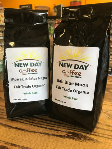 New Day Coffee -12 oz Whole Bean