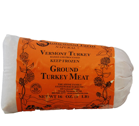 Stonewood Farm Ground Turkey - 1 lb