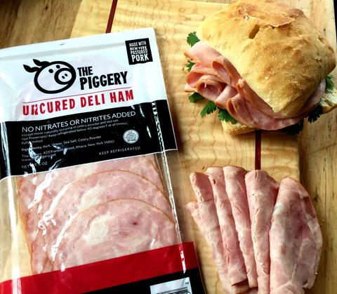 Piggery Deli Sliced Ham - 6 oz