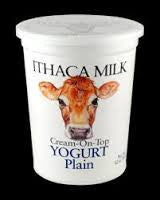 Ithaca Dairy Yogurt - Quart