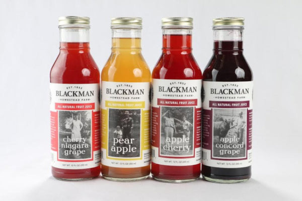 Blackman Farm Fruit Juices - 12 oz