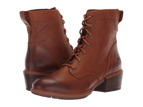 TIMBERLAND Sutherlin Bay Mid Lace Women | Brown / Argan Oil (TB0A1SD3K43)