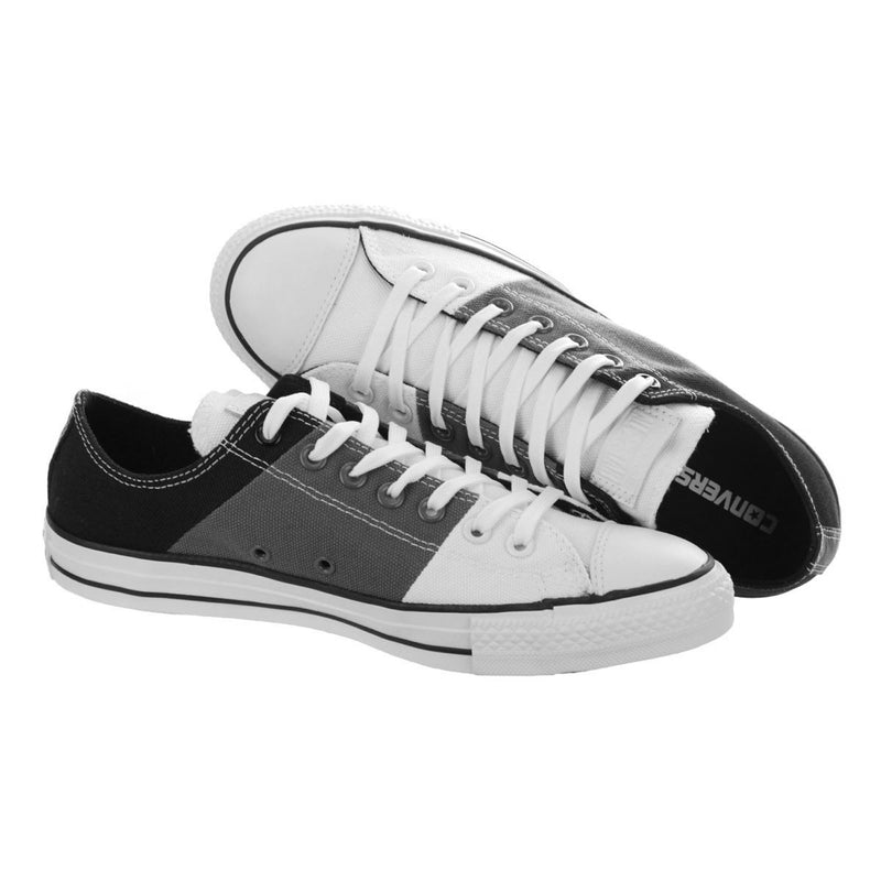 CONVERSE Chuck Taylor Panel Ox Men | White / Charcoal / Black (142305F)