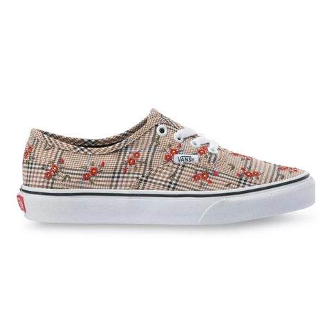 VANS Glen Paid Floral Authentic Unisex | Embroidery/True White (VN0A348A2NV)