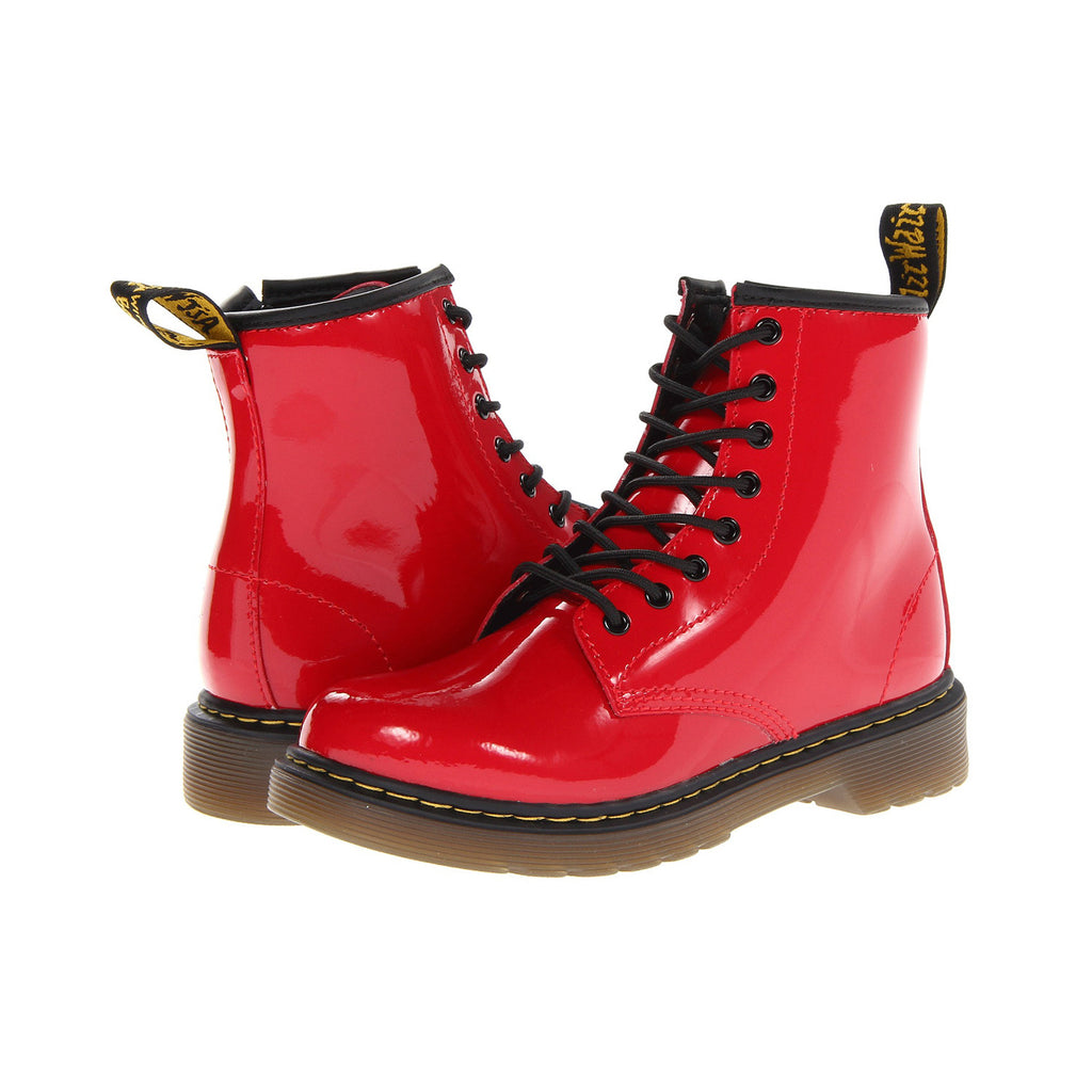 DR. MARTENS Delaney Youth | Red Patent Lamper (21979602/15382602)