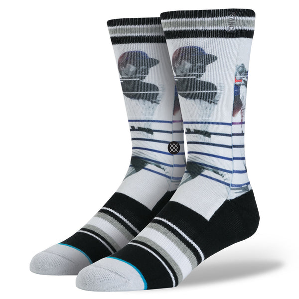 STANCE Mr. October Socks Men | Black (M3150C5MRO) (Large)