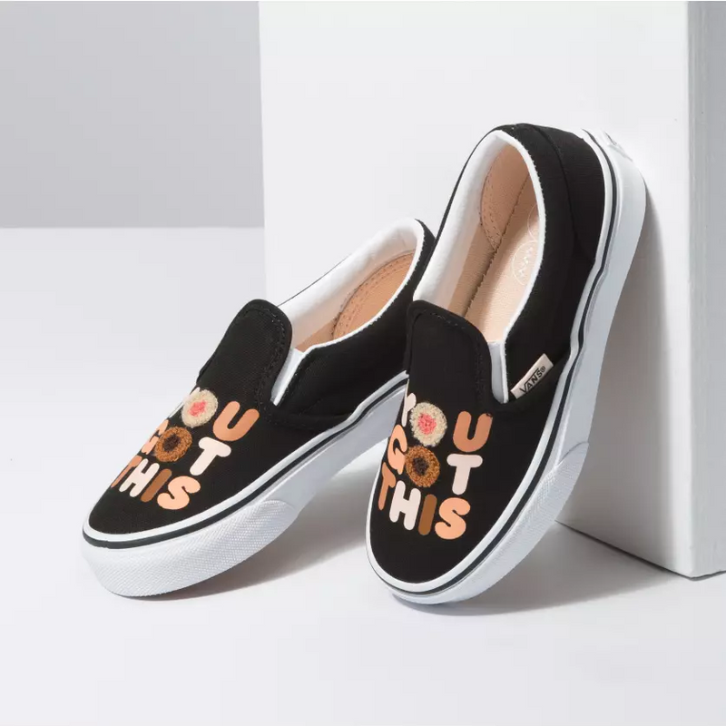VANS Breast Cancer Kids | True White (VN0A4BUTT4U)