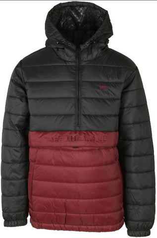 VANS Carlton Puffer Anorak Men | Black/Port Royale (VN0A4RRD9NZ)