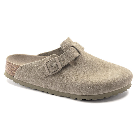 BIRKENSTOCK Boston SoftFootBed Men | Faded Khaki (1019054)