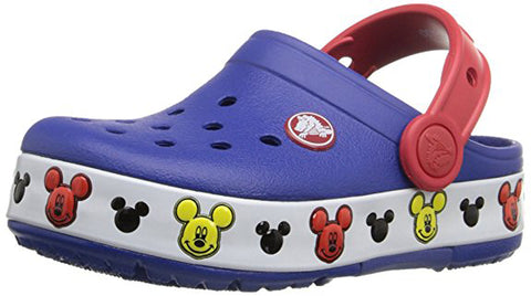 CROCS Crocslights Mickey Toddler | Cerulean Blue (203072)