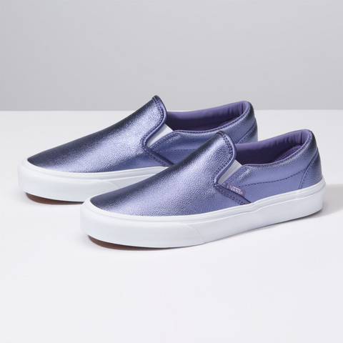VANS Classic Slip-On Metallic Women | Veronica/ True White (VN0A38F7ULW)